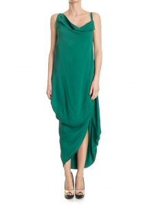 Vivienne Westwood Anglomania Tube Dress Green