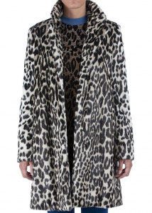 Adidas by Stella McCartney Eco-Fur Coat Animal print