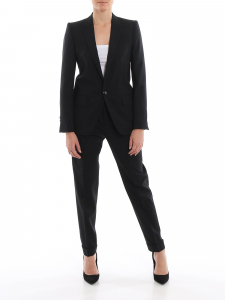 DSQUARED2 Single-Breasted Wool Suit Black