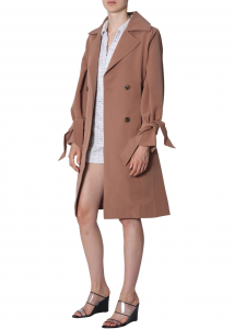 "Jovonna London ""Rhode2"" Trench BROWN"