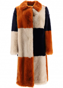 Adidas by Stella McCartney Adalyn Eco Fur Coat OAT