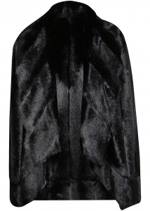 Pinko Oddone Peacoat In Black Black