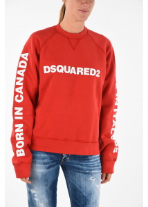 DSQUARED2 Printed COOL FIT Sweatshirt RED