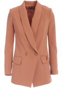 Elisabetta Franchi Technical Fabric Suit In Pink Pink
