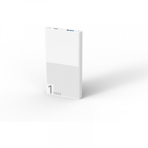 Baterie externa 10000 mAh Quick Charge 3.0 White