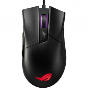 Mouse Gaming ROG Gladius II Core Aura Sync RGB Ergonomic 6200 DPI Black