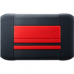 Hard disk extern AC633 2TB 2.5 inch USB 3.1 shockproof military Red