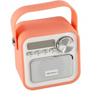 Boxa portabila Joy Bluetooth 5W Peach