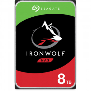Hard disk IronWolf 8TB SATA-III 7200RPM 256MB