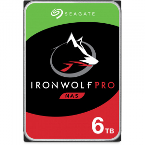 Hard disk IronWolf Pro 6TB SATA-III 7200rpm 256MB