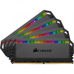 Memorie Dominator Platinum RGB 32GB DDR4 3000MHz CL15 Quad Channel Kit