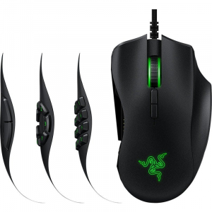 Mouse Gaming Naga Trinity WR Black