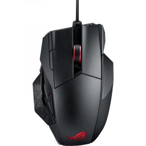 Mouse gaming ROG Spatha Wireless 8200 DPI 12 Butoane Programabile Negru