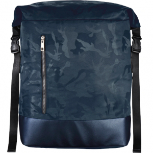 Rucsac Laptop Roll Top Mission Camo15.6inch Navy blue