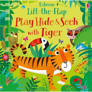 Play Hide and Seek With Tiger - Carte Usborne 0+