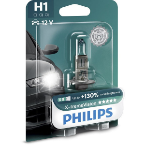 Bec auto Philips H1 12V 55W X-TREME VISION PLUS