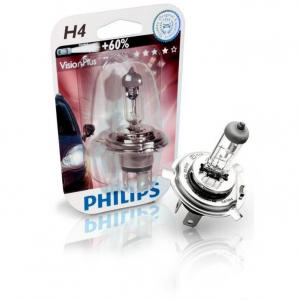 Bec auto Philips H4 12V 60/55W VISION PLUS