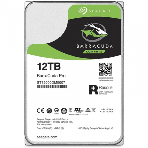 HDD BarraCuda Pro 3.5'' 12TB SATA3 7200RPM 256MB