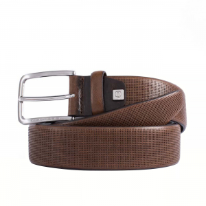 BELT IN PRINTED LEATHER