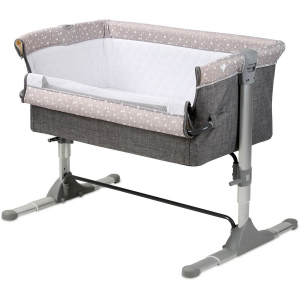 Patut SLEEP N CARE 10080431901 92x68x78cm reglabil Light Grey