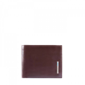 BLUE SQUARE WALLET WITH COIN CASE