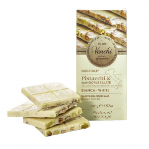 WHITE CHOCOLATE BAR WITH SALTED DRIED FRUIT 100gr