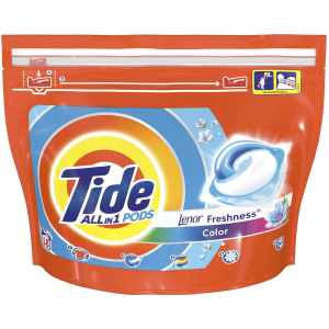 Detergent capsule Tide All in One PODS Touch Of Lenor Color 58 spalari