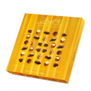Mini PRALINES BOX GOLD 155gr