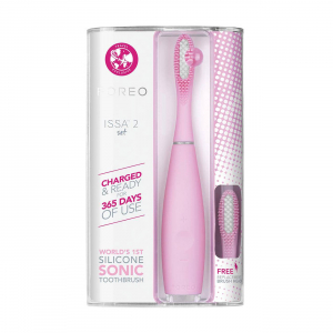 ISSA 2 Pearl Pink Oral Care Set