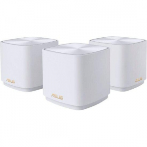 Dual-band large home Mesh ZENwifi system XD4 3 pack; white