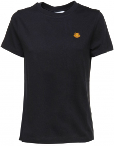 Kenzo Tiger Crest T-Shirt In Black Black