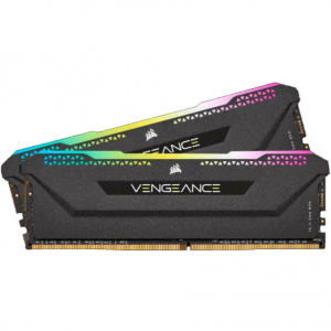Memorie Vengeance RGB Pro SL Black 32GB (2x16GB) DDR4 3200MHz CL16 1.35V Dual Channel Kit