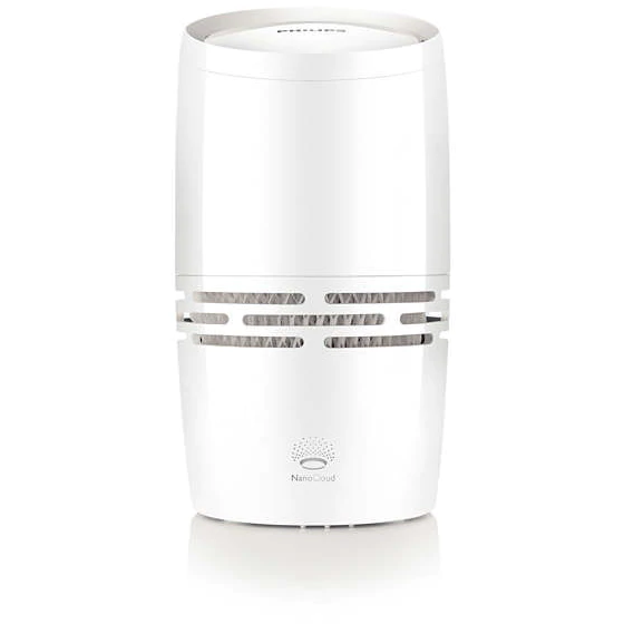 Umidificator de Aer HU4706/50 Safe&Clean Tehnologie NanoCloud Capacitate 1.3L 150ml/h Alb