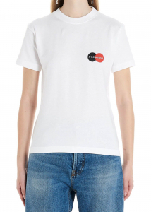 Balenciaga Uniform T-Shirt In White White
