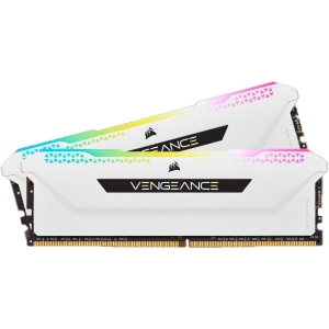 Memorie Vengeance RGB Pro SL White 32GB (2x16GB) DDR4 3200MHz CL16 1.35V Dual Channel Kit