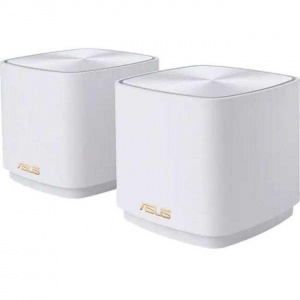 Asus dual-band large home Mesh ZENwifi system, XD4 2 pack; white