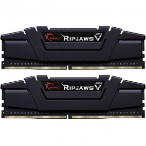 Memorie Ripjaws V Black 32GB (2x16GB) DDR4 3200MHz CL16 Dual Channel Kit