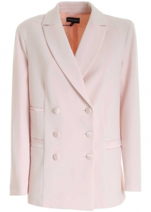 Emporio Armani Double-Breasted Jacket In Pink 3K2G632NMSZ0304 Pink