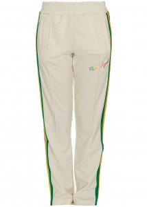 Palm Angels 8390469-59975364 Palm Angels Miami Contrasting Stripe Tracksuit Bottoms PWCA035S21FAB0020384 White