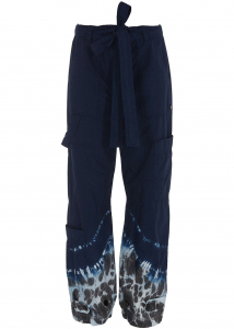 MSGM 8390610-59975505 MSGM Cotton Trousers In Blue 3042MDP145T21747988 Blue