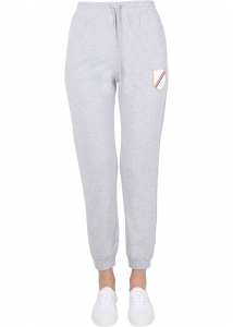 Thom Browne Pants With Crest Patch FJQ057A_06931065 GREY
