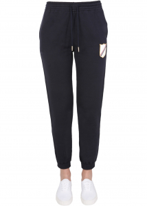 Thom Browne Pants With Crest Patch FJQ057A_06931415 BLUE