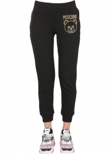 Moschino Jogging Pants With Logo 03375527_1555 BLACK