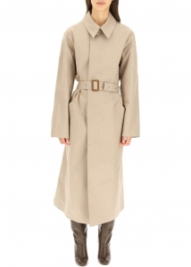 A.P.C. A.p.c. Balt Trench Coat COERZ F01465 TAUPE